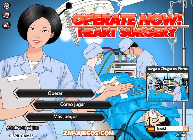 simulador de cirugia cardiaca bypass coronario