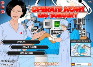 Cirugia de la pierna, Fractura de Tibia, Ortopedia simulador de cirugia